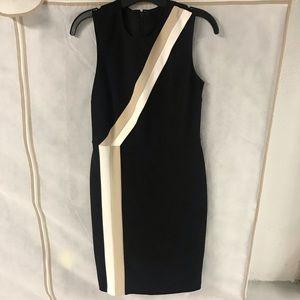 Vince Camuto Diagonal Stripe Dress size 2